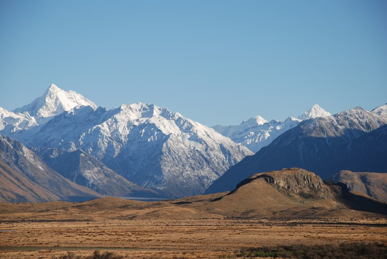 Mount Sunday, or as it's also known, Edoras