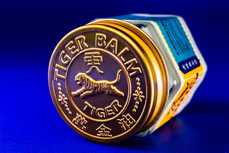 Tiger Balm: a cure for many illnesses