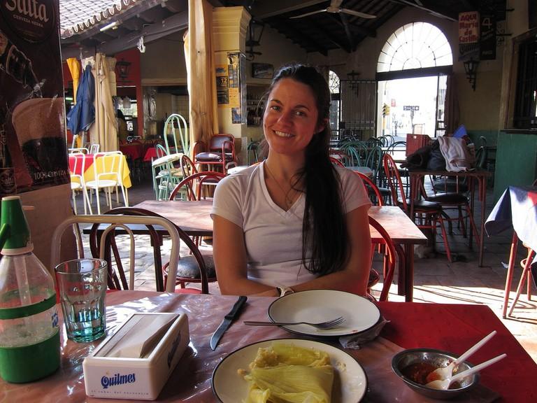 Patio de la Empanada in Salta