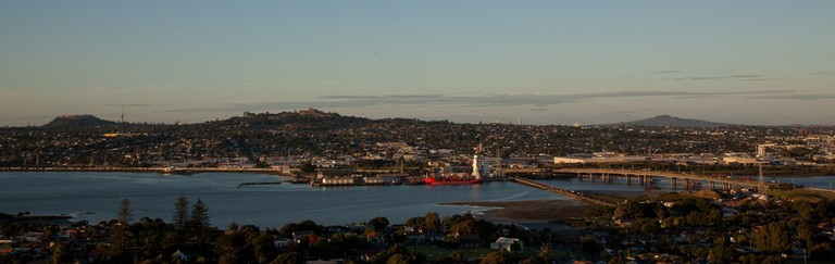 View from Mount Mangere