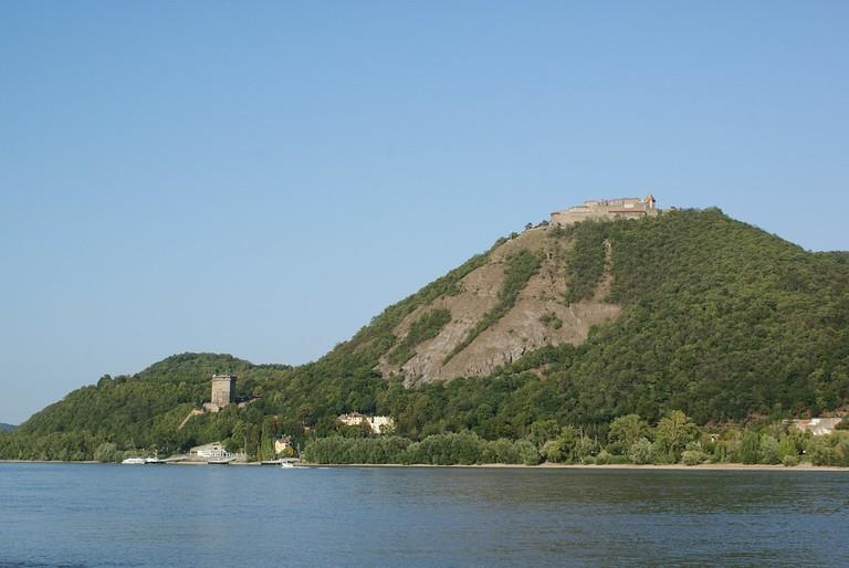 Visegrád Castle on the Danube