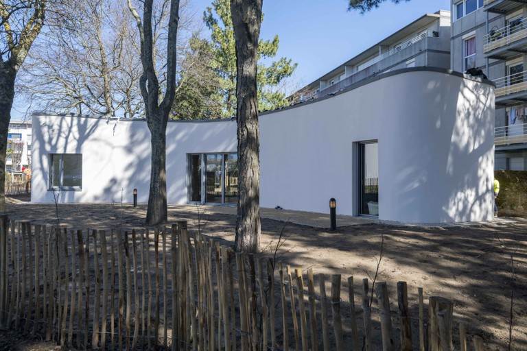 The world's first 3D-printed house in Nantes