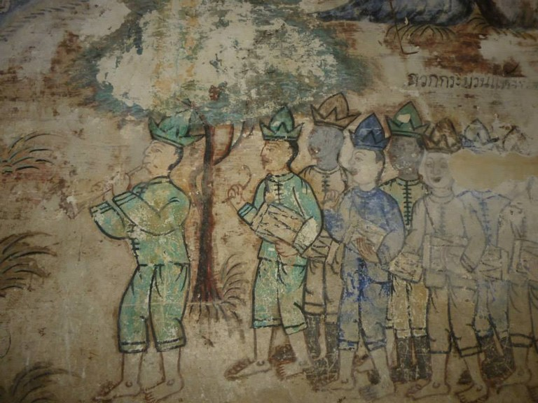 Art at Wat Mai