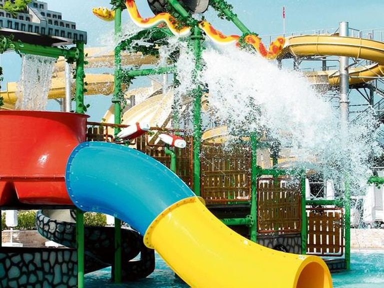 Wet 'n' Wild water theme park at Orka Sunlife Resort and Spa