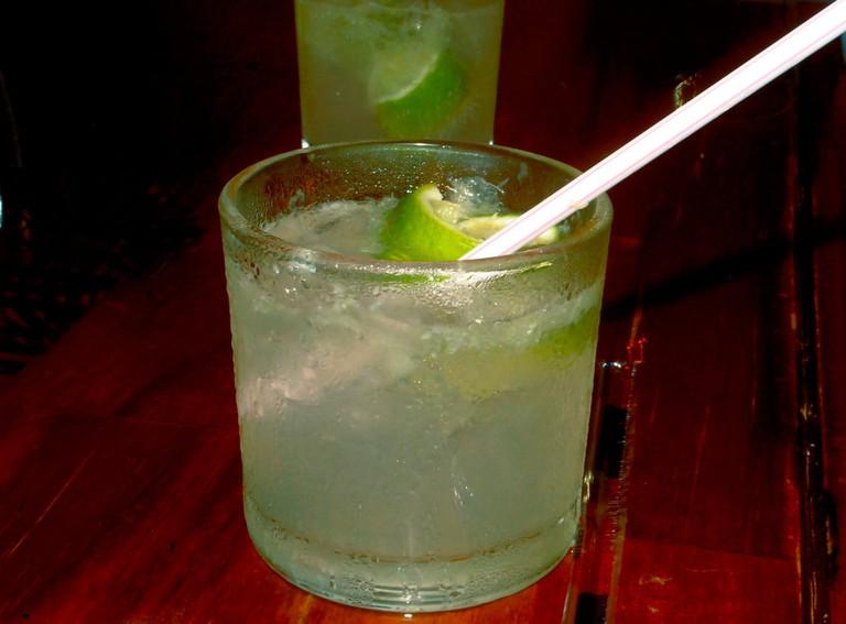 The caipirinha, Brazil's most famous cocktail