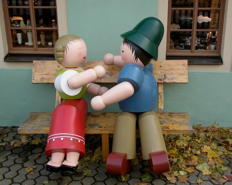 Wooden toys from Ore Mountains