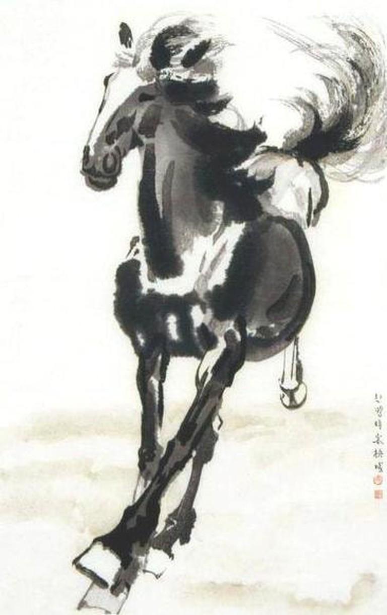 Galloping Horse (1941), by Xu Beihong