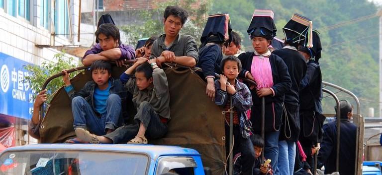 Yao People, Laomeng, Yunnan