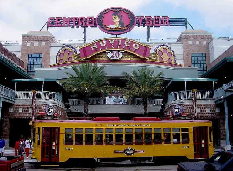 Teco Line Streetcar, Ybor City, Tampa