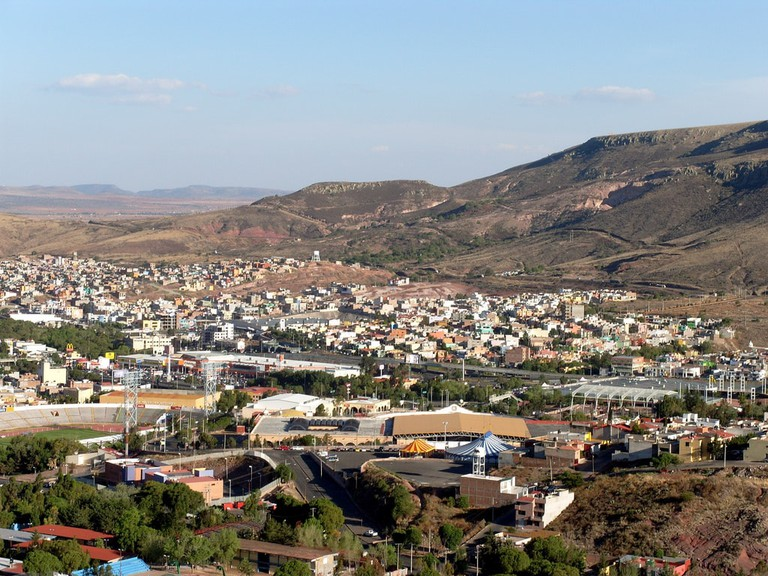 Zacatecas from above