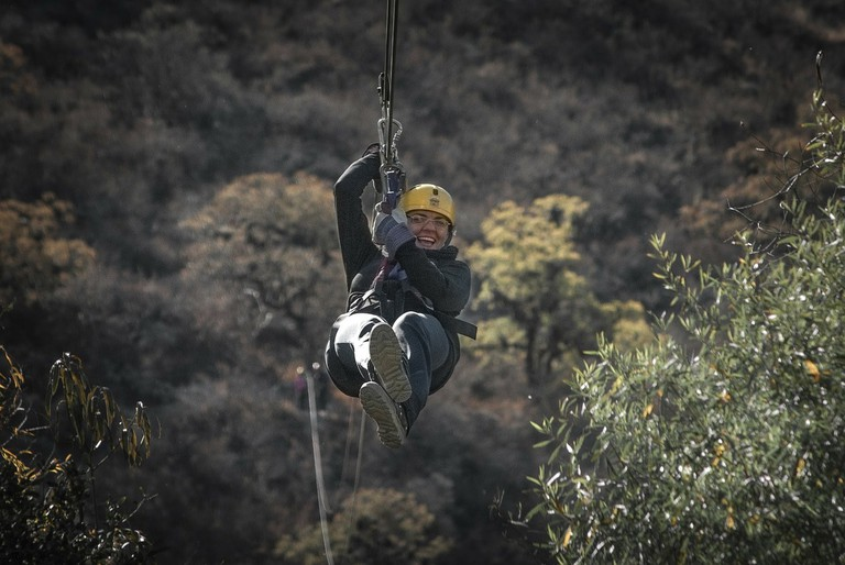 Ziplining Lunahuana