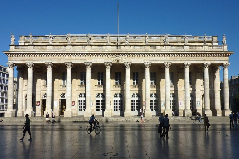 Bordeaux's Grand Théâtre and its majestic architecture