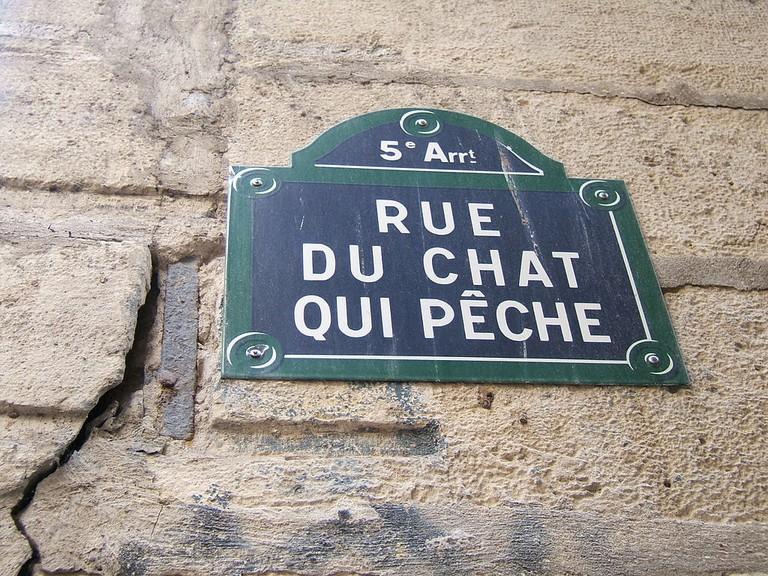 La Rue du Chat-qui-Pêche