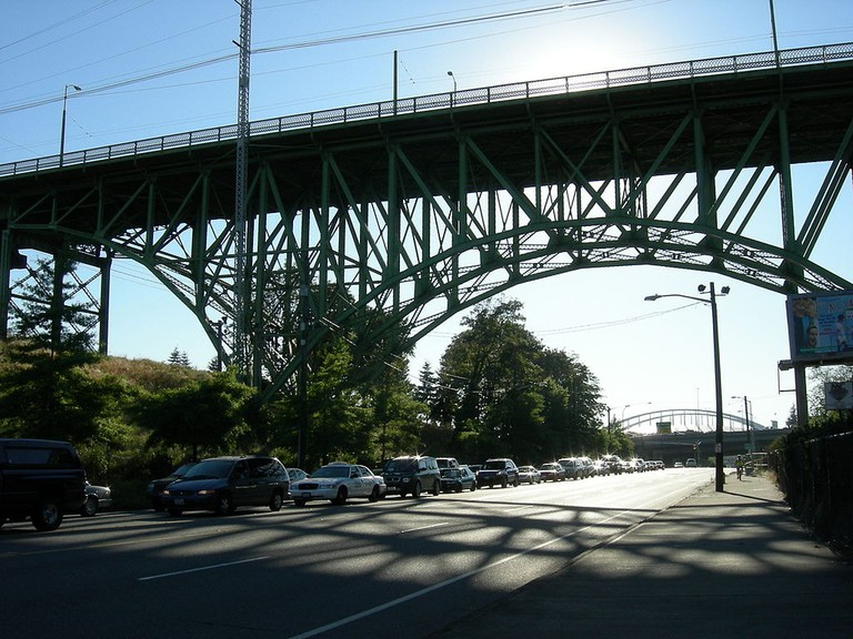 Jose P. Rizal Bridge in Seattle