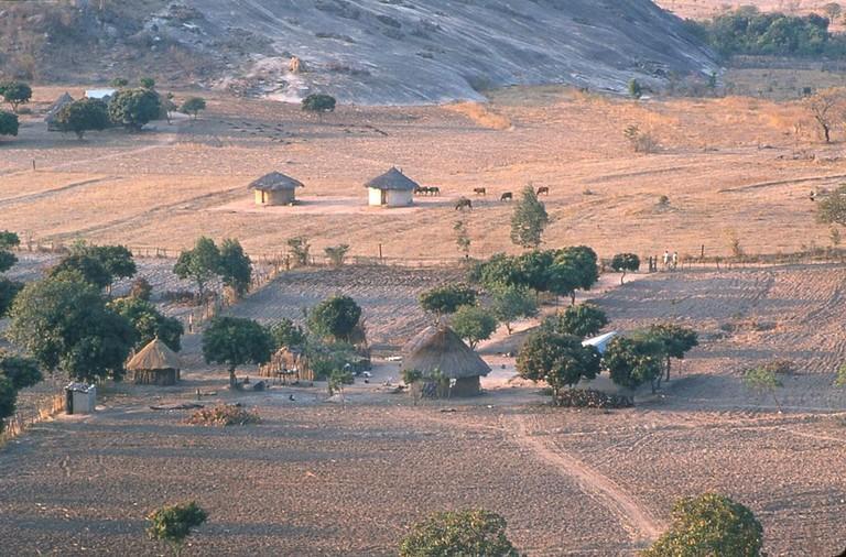 Shona farms in Zimbabwe