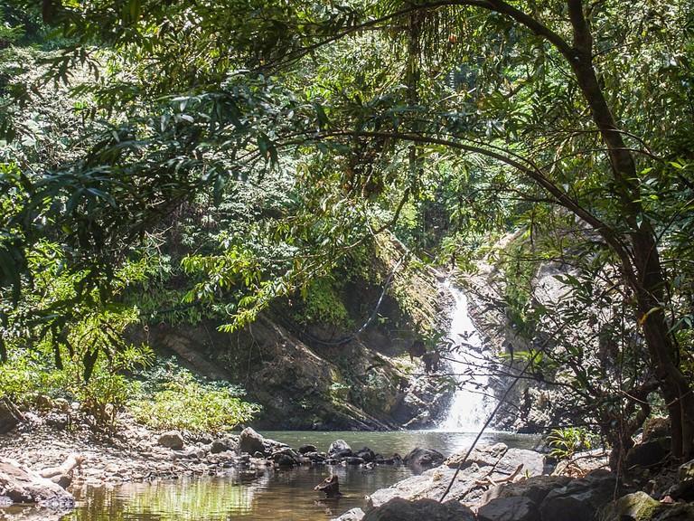 Waterfall in Tabin Wildlife Reserve