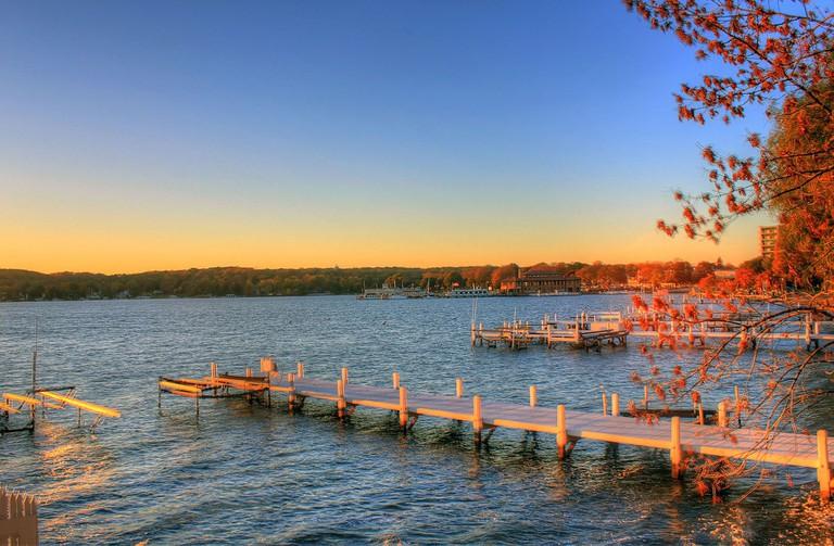 Lake Geneva, WI is a terrific road trip destination all year round.