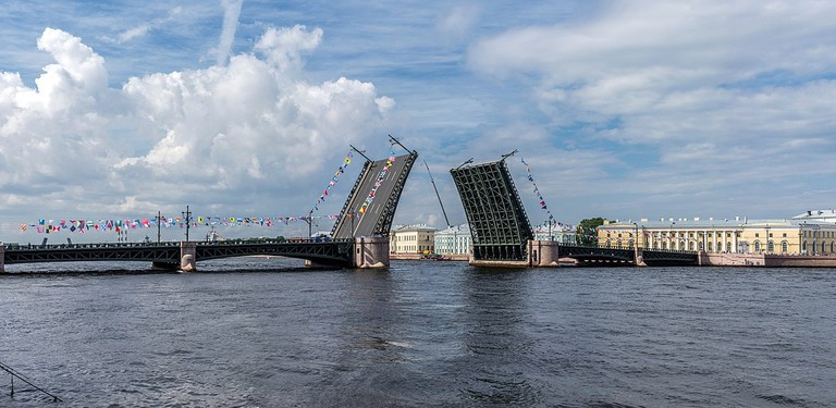 Drawn Palace Bridge