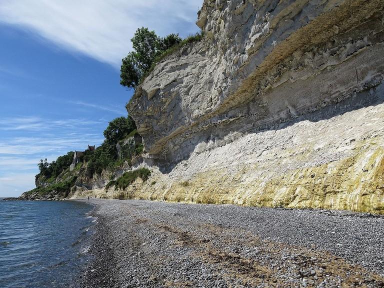 Stevns_klint_strand cliff UNESCO