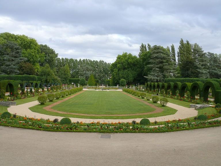 Jardin des prés-fichaux, Bourges