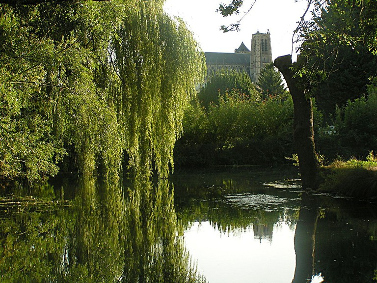 The marshes of Bourges