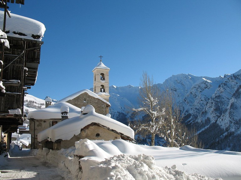 The white wonderland of Saint-Véran