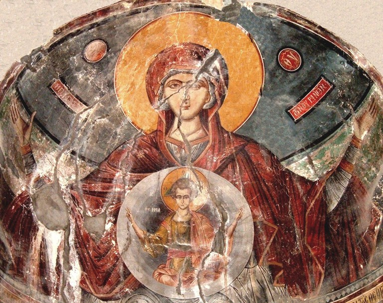1280px-Saint_Apostles_Church_in_Kastoria,_Saint_Mary_Vlahernitissa_Fresco,_Onufri_Argites,_1547