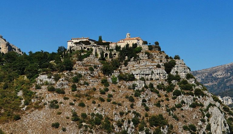 Gourdon, perched on the cliffs