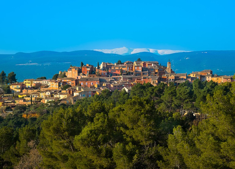 Golden Roussillon in Provence