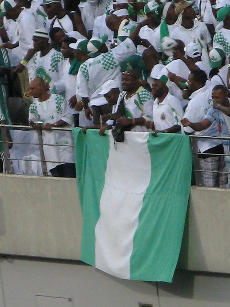 The Nigerian Flag©Jake Brown/Flickr