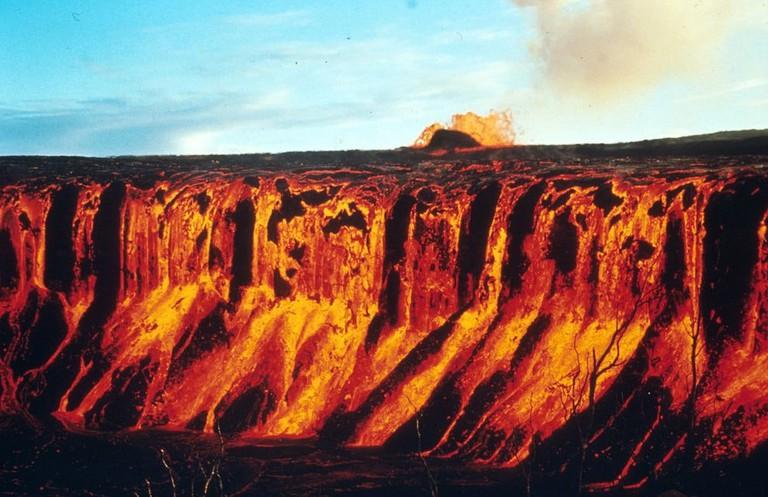 Mauna Ulu eruption