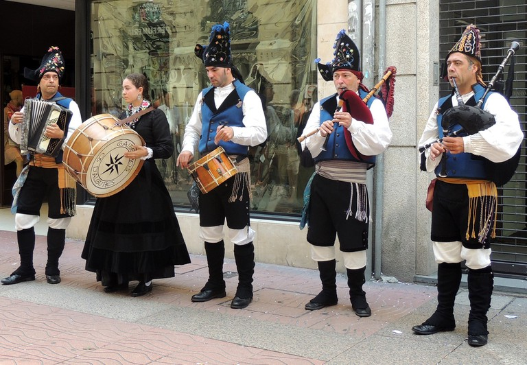 Festas da Peregrina, Pontevedra, Spain