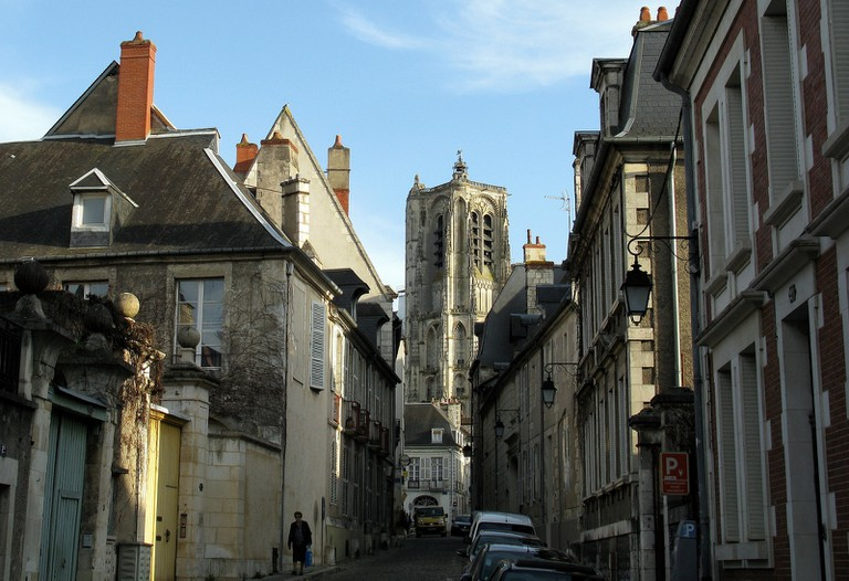 The medieval old town of Bourges