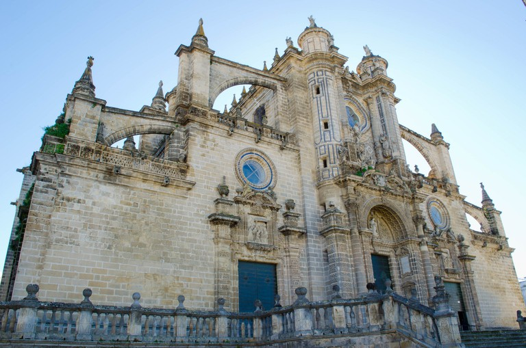 The San Salvador Cathedral in Jerez