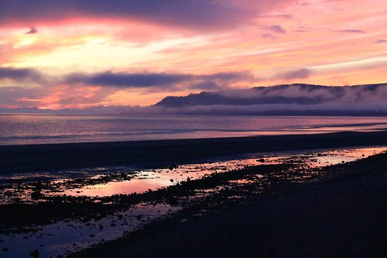 Sunset on the Homer Spit