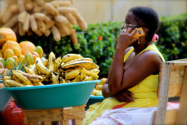 Delicious fresh fruit in Cartagena's walled city