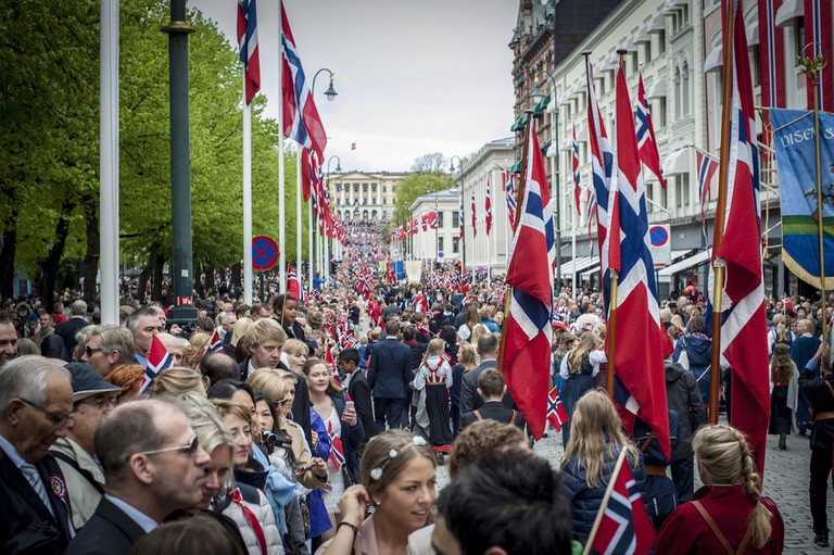 17 May, Constitution Day in Oslo