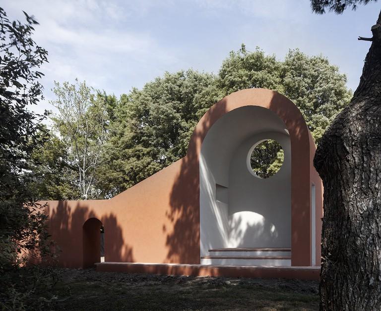 Flores & Prats design for the Vatican Chapels presentation at the Biennale Architettura 2018