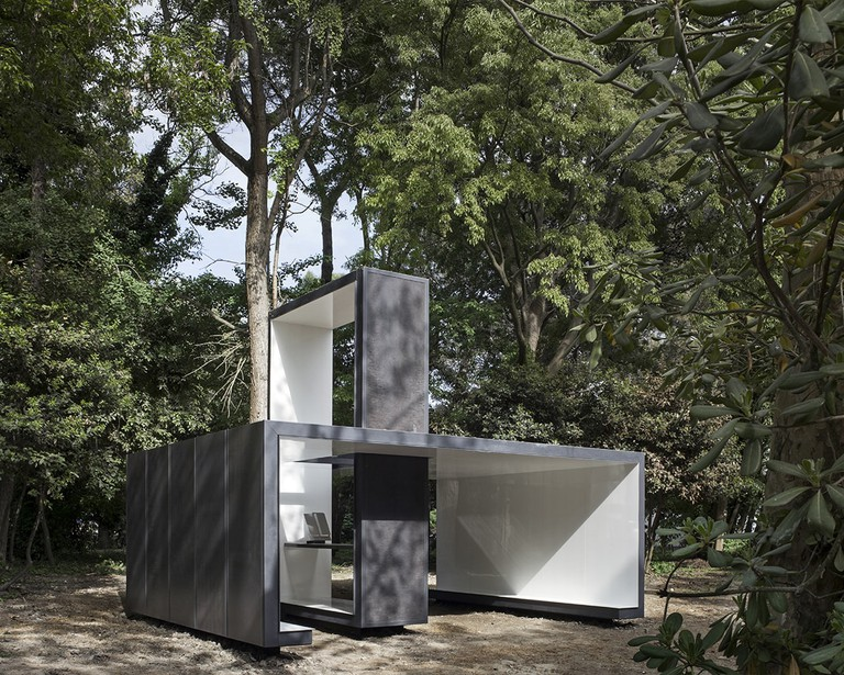 Francesco Cellini's design for the Vatican Chapels presentation at the Biennale Architettura 2018