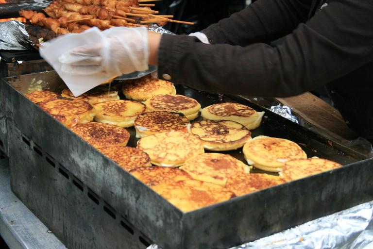 Street food inMedellín