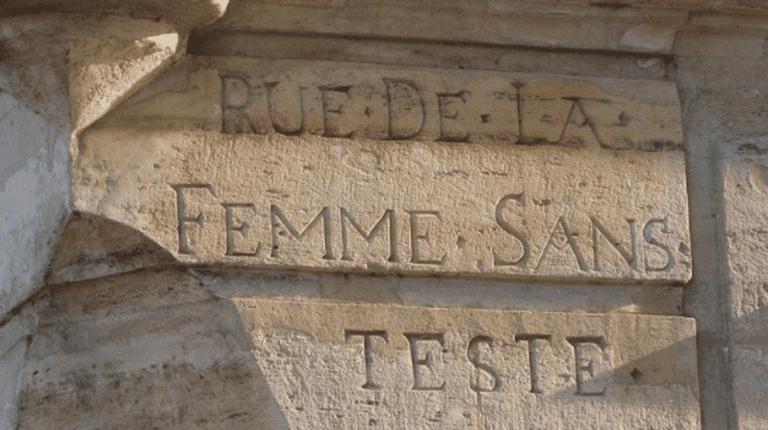 La Rue de La Femme Sans Test