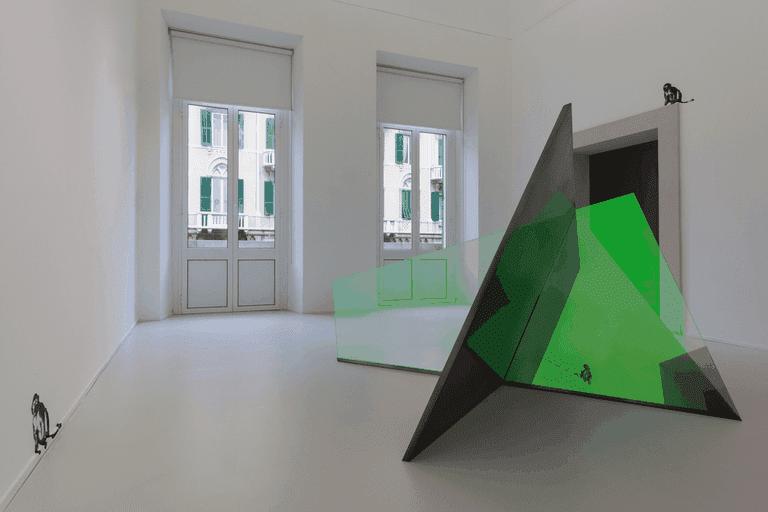 Installation view 'Matteo Negri. Piano Piano', ABC Arte, Genova, Italy, 2016 | © Matteo Negri