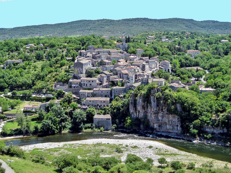 The village of Balazuc in the Ardèche