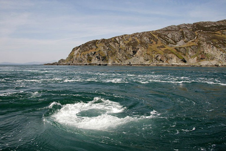 The Corryvreckan Whirlpool, Jura, Scotland