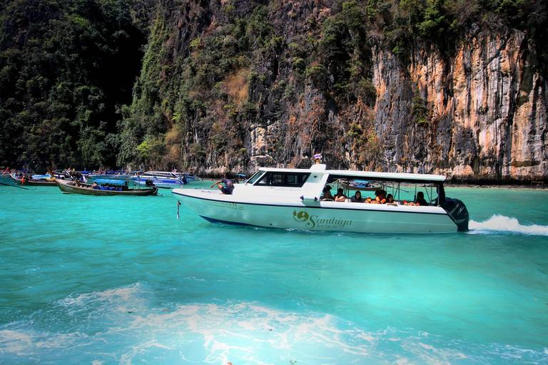 Speedboat in Krabi