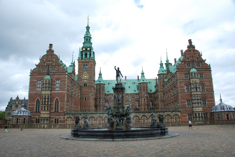 The Fountain of Frederiksborg Castle