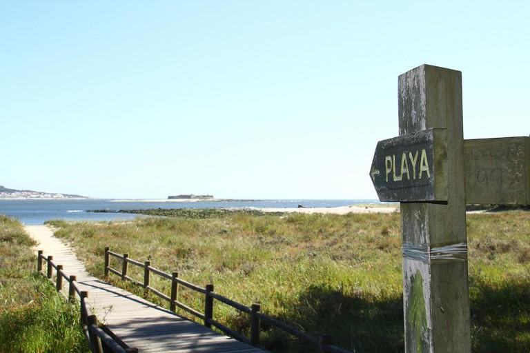 Playa del Puntal, Santander