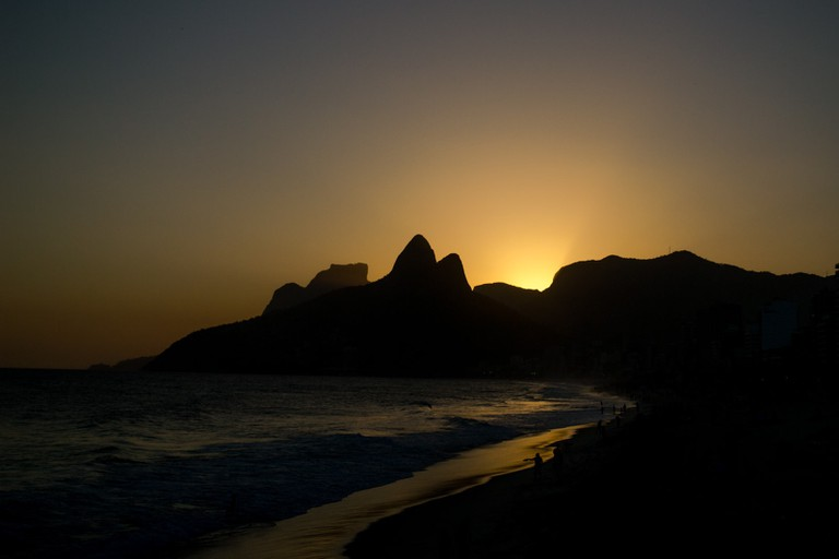 Dois Irmaos from Ipanema Beach