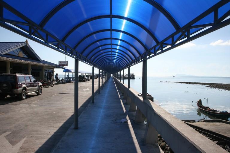 Pier in Koh Samui