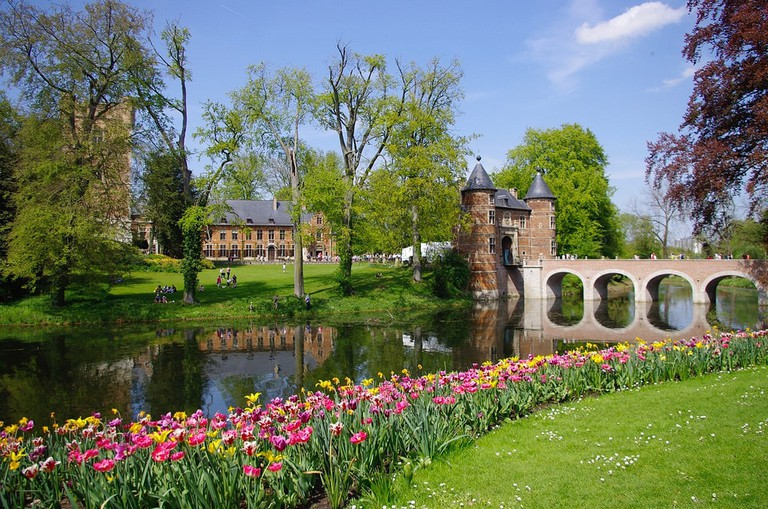 Floralia is held at Groot-Bijgaarden Castle every spring